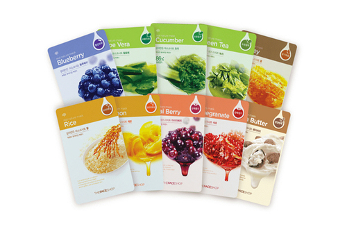 THEFACESHOP Real nature mask sheet*10