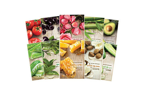 Nature Republic Real Nature Mask Sheet *10